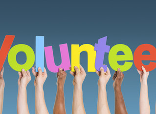 Volunteering Options Coming Available