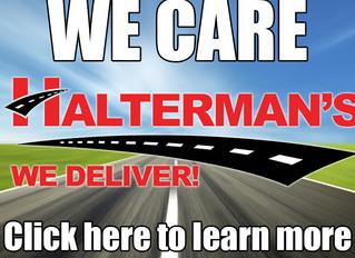 Thank you to Halterman's Toyota Scion and Mitsubishi of Stroudsburg, PA