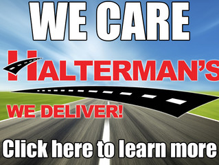 Thank you to Halterman's Toyota Scion and Mitsubishi of Stroudsburg, PA
