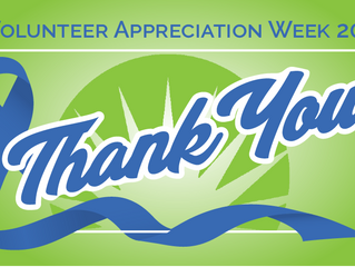 Volunteer Appreciation Week-Thank You!!