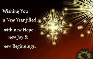 Happy New Year from Brandon's Homes 4 Hope!