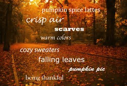 Who is Ready For Fall?