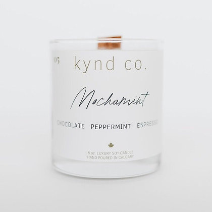 Mochamint- Luxury Soy Coconut Candle 8oz