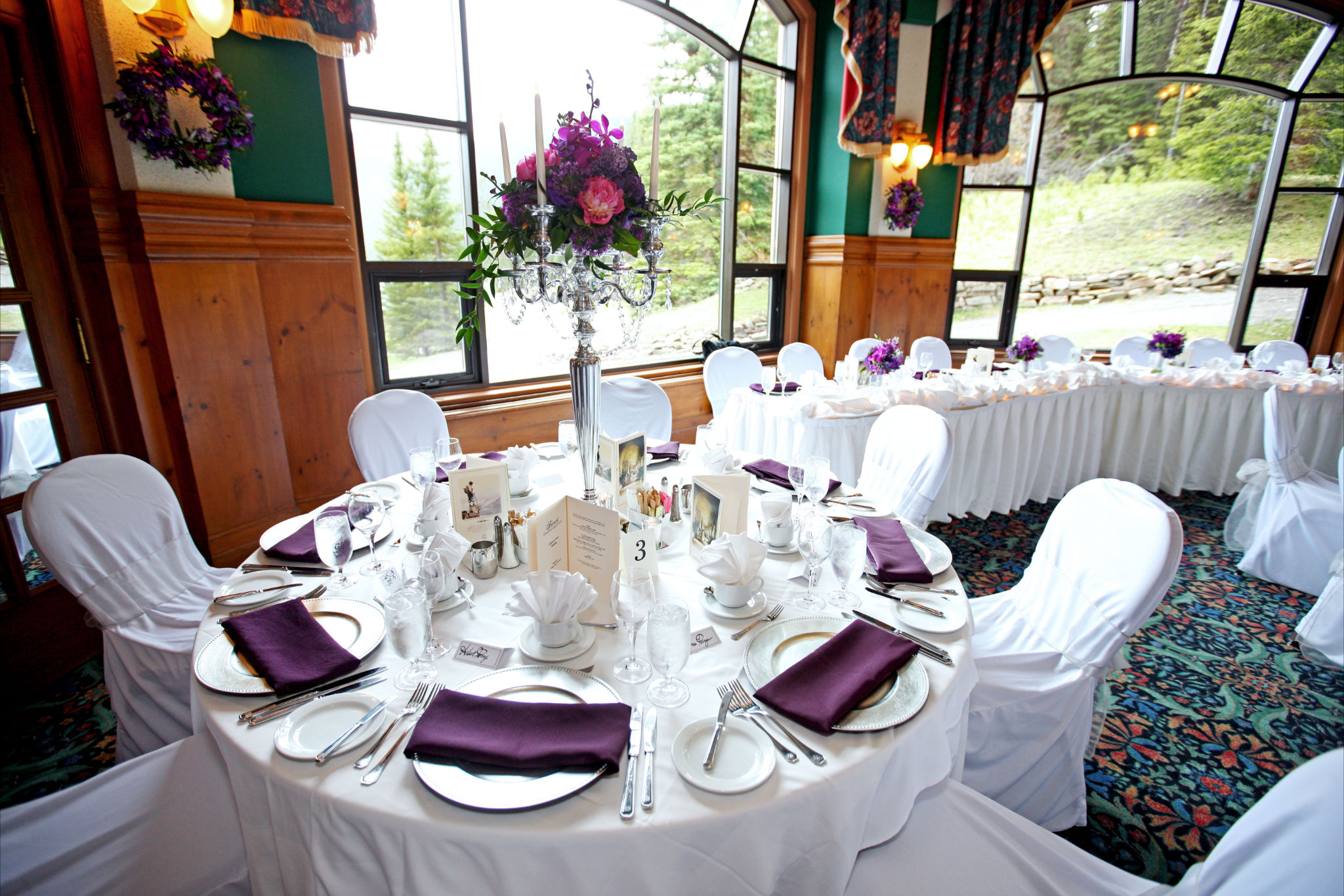Purple Orchid Wedding 6