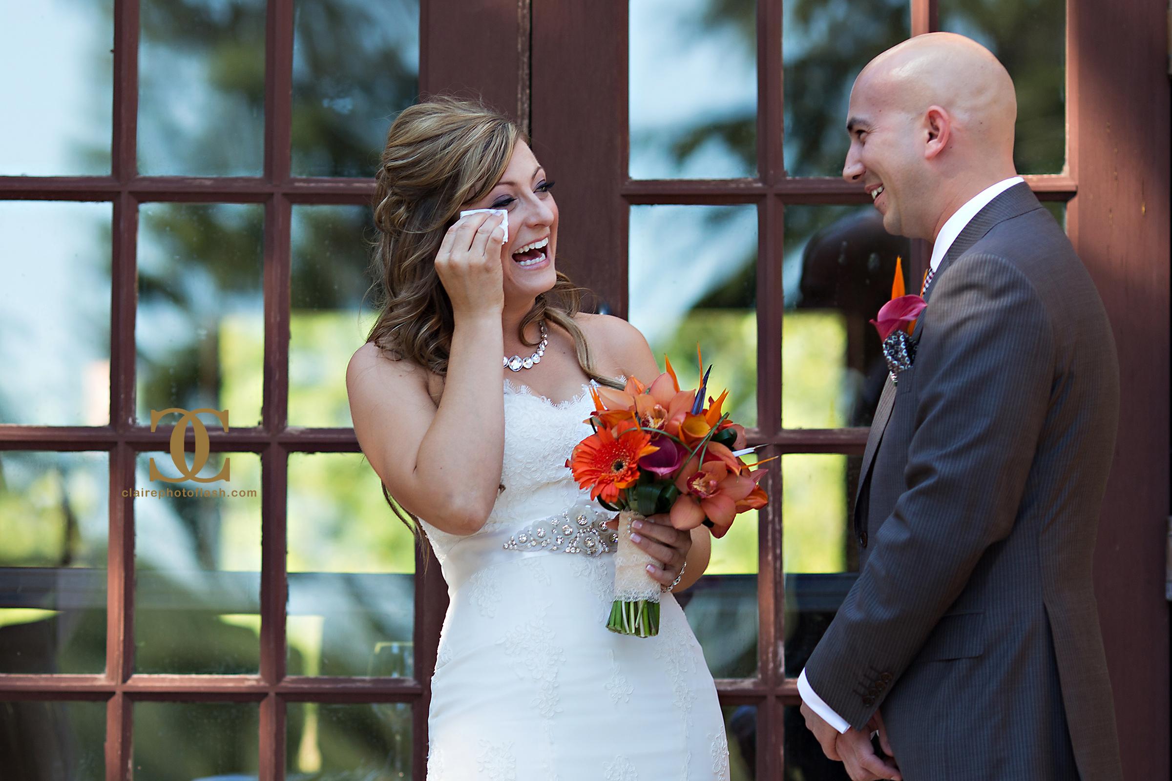 Orange Tropical Wedding 5