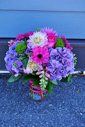 Purple & Pink Arrangement