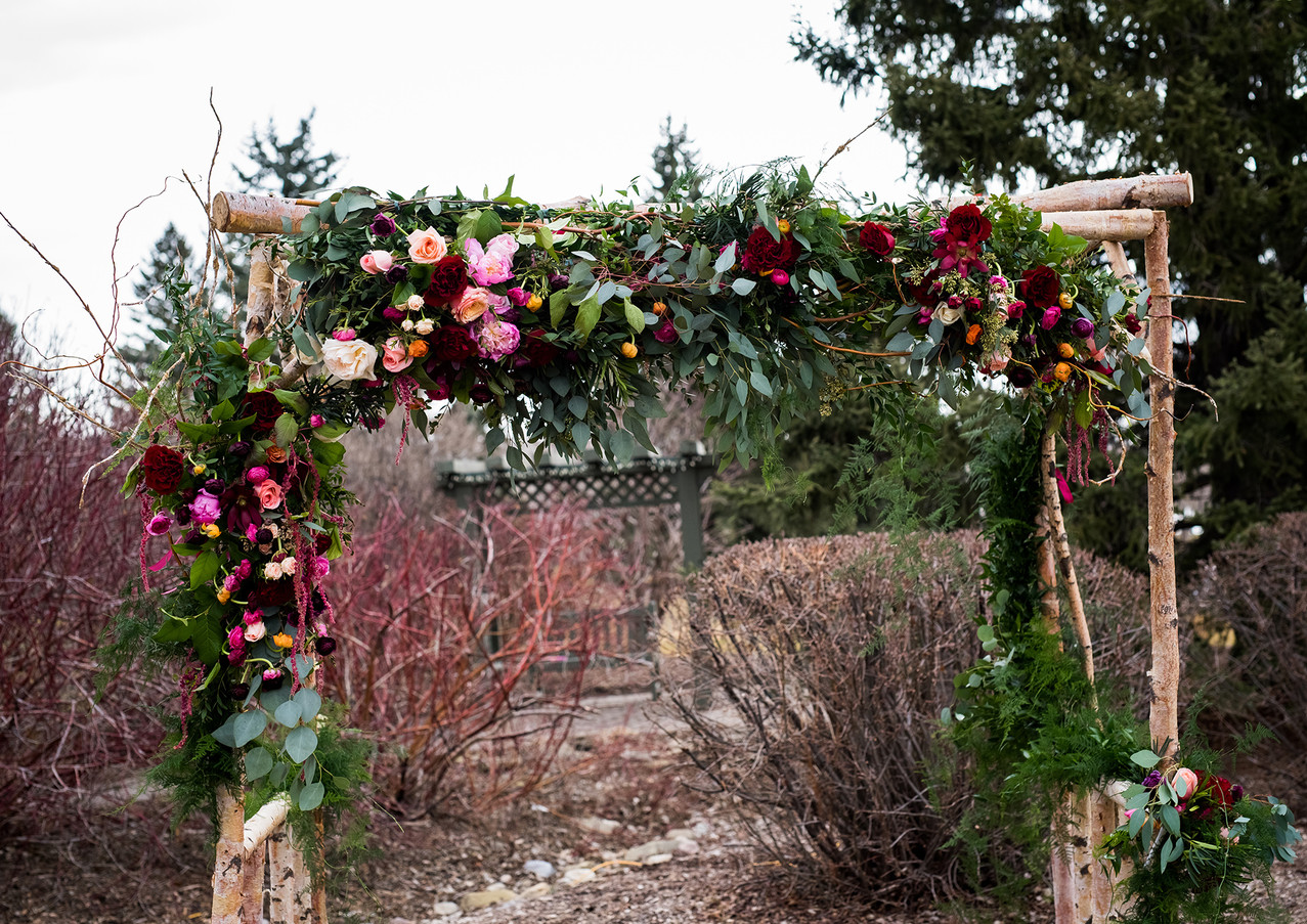 Rustic Garden Romance Paisley Photograph