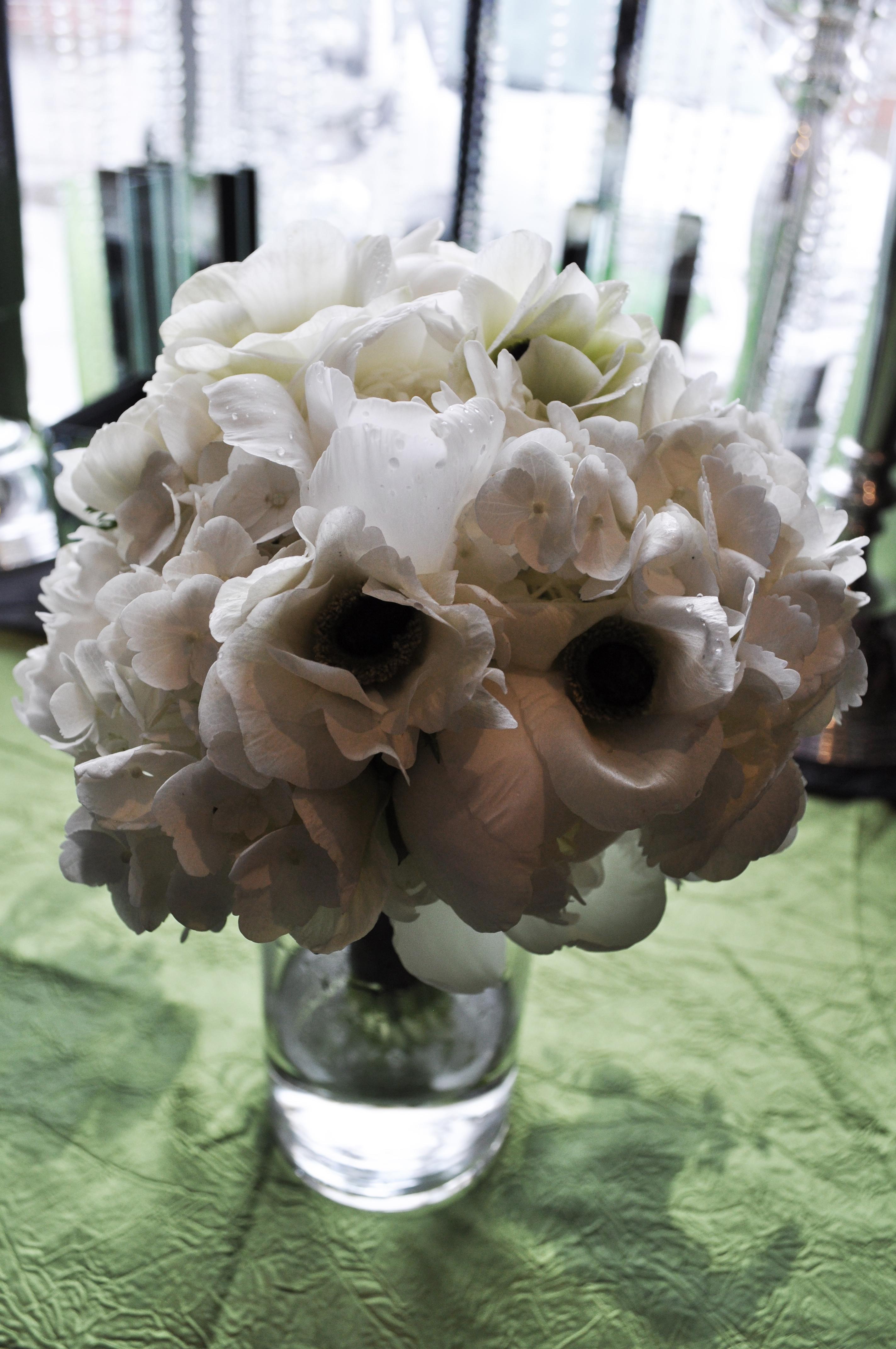 White Petal Bouquet