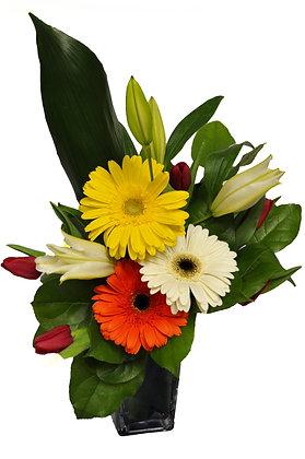 Spring Lily Arrangement