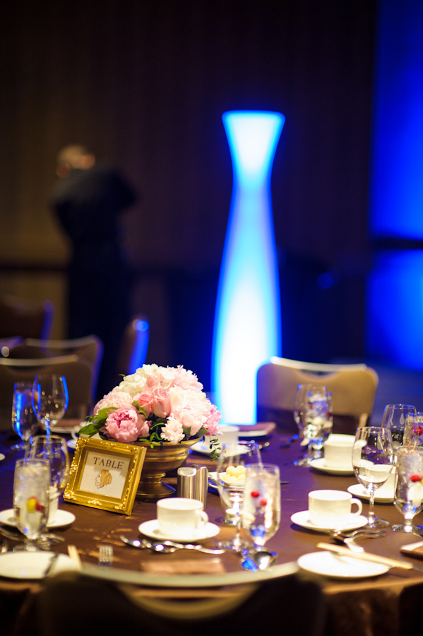 Pink Peony Centerpieces 3