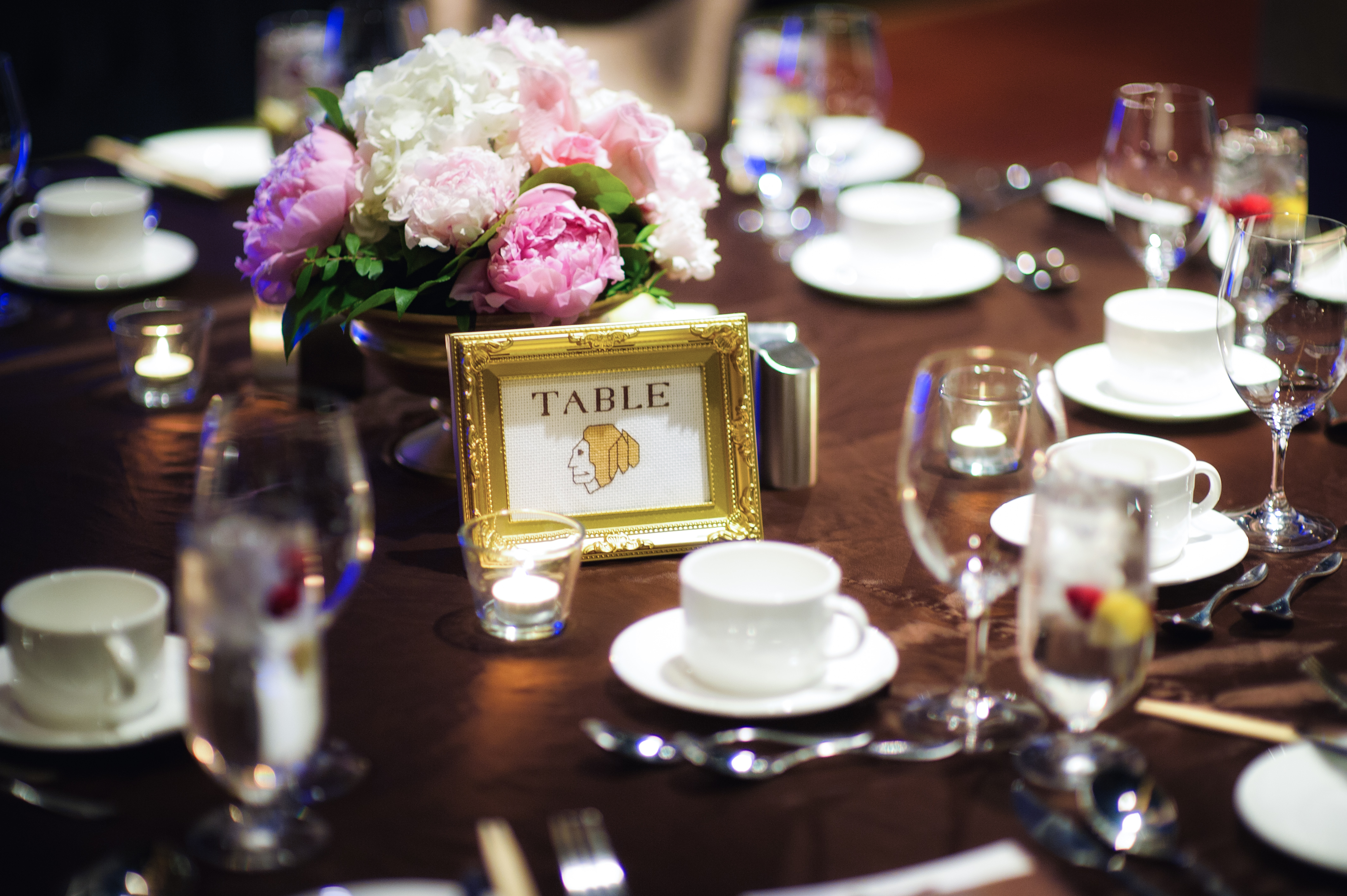 Pink Peony Centerpieces 2