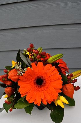 Orange Gerbera Centerpiece