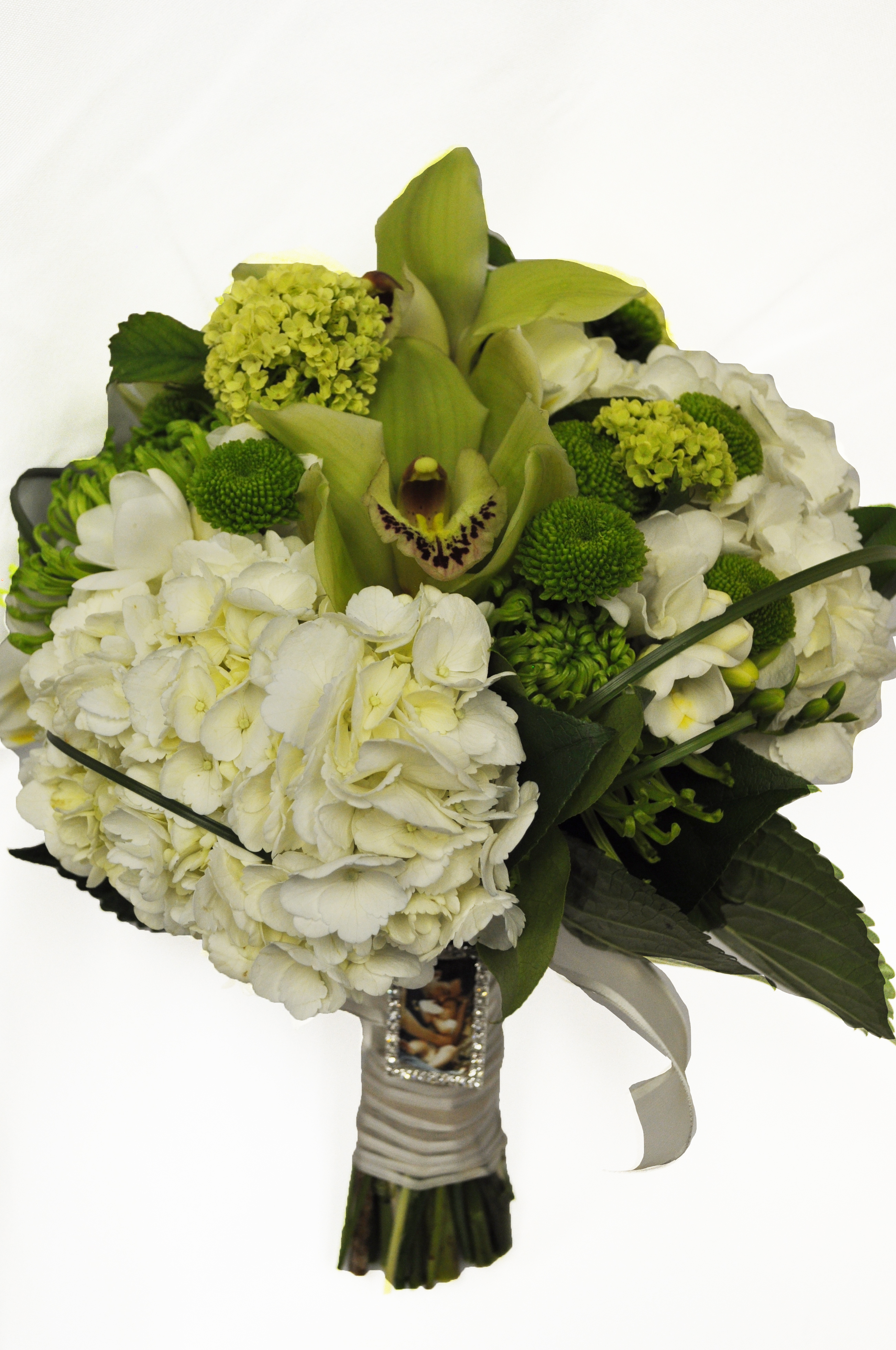 Lime & White Bouquet