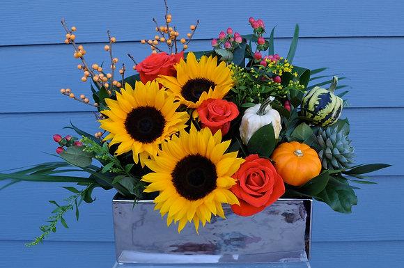 Thanksgiving Sunflower Design