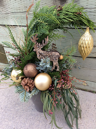 Rustic Grinch Trees
