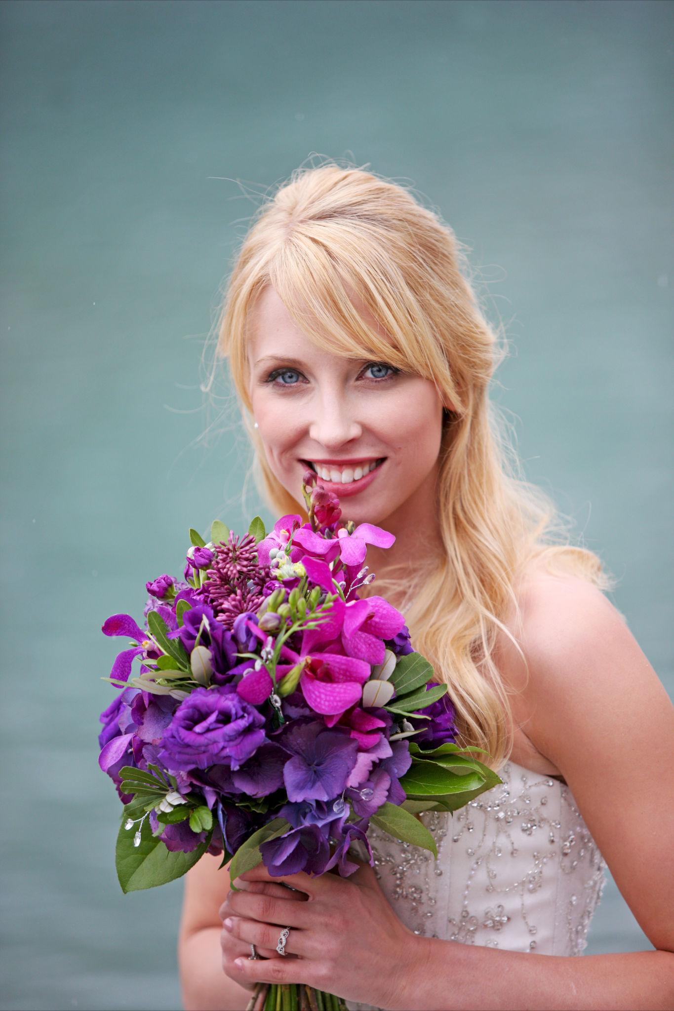 Purple Orchid Wedding 7