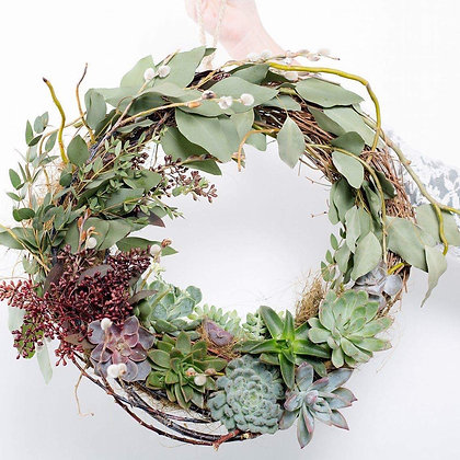 Living Wreath Design Workshop