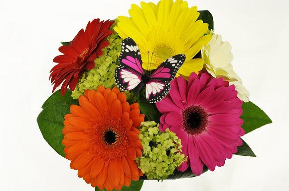 Cheerful Gerbera Bouquet