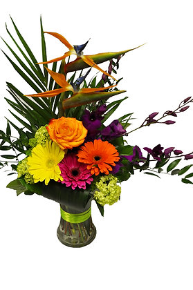 Bright Tropics Arrangement