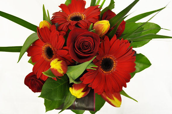 Red Spring Bouquet