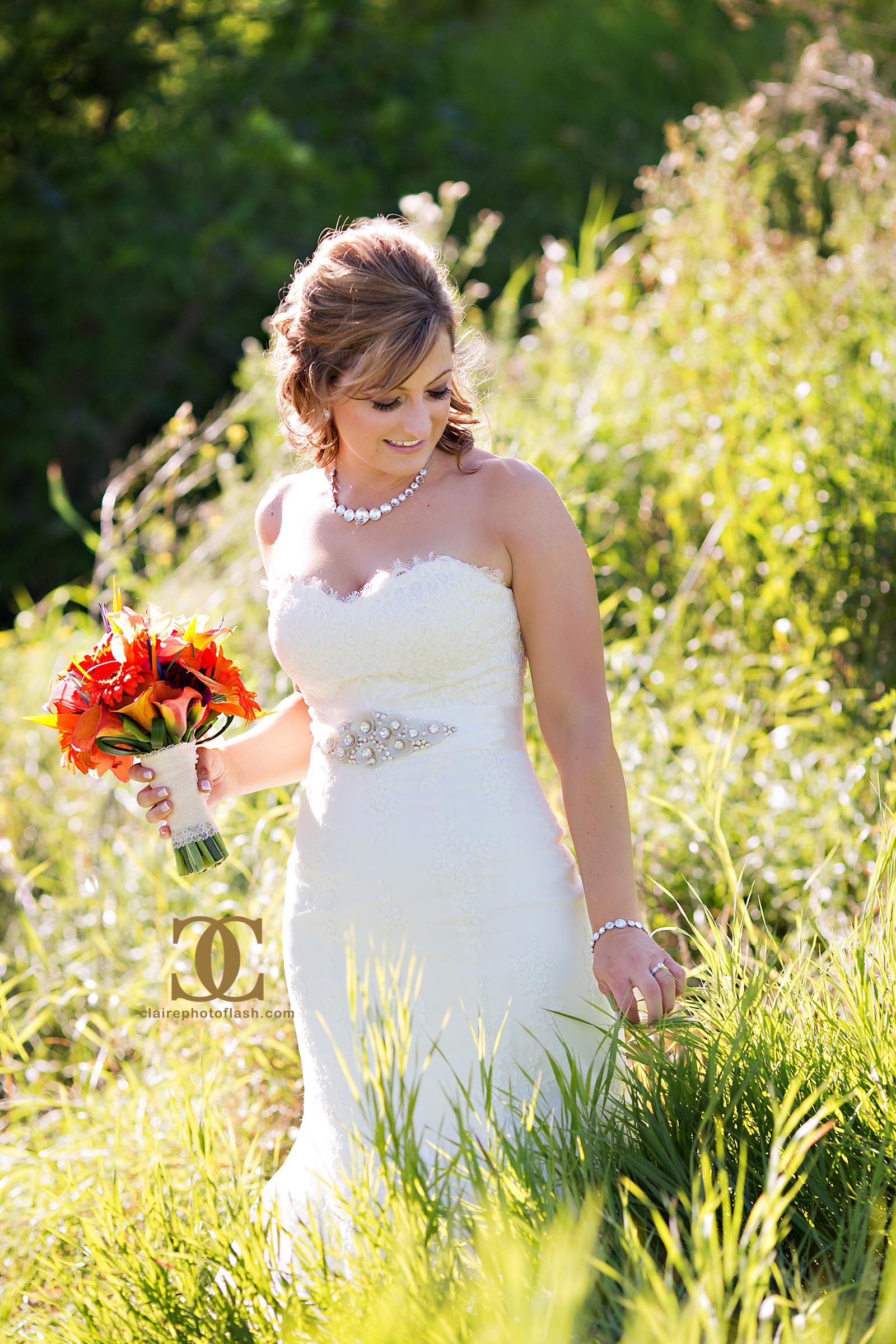 Orange Tropical Wedding 3