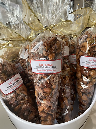 Mixed Candied Spice Nuts