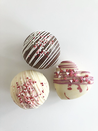 Mother's Day Hot Chocolate Bombs- By Gold Box Bakery. Packaged Individually