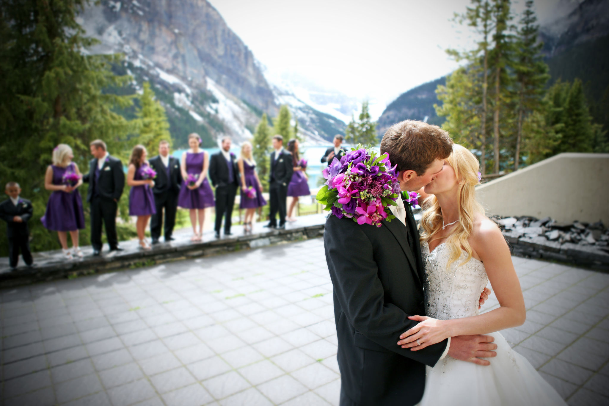 Purple Orchid Wedding 9