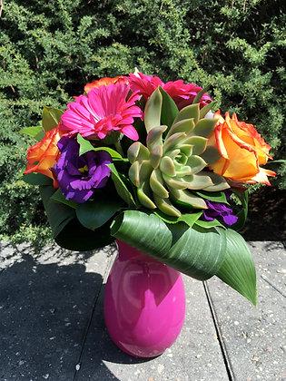 Vibrant Succulent Arrangement