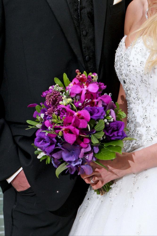 Purple Orchid Wedding 3