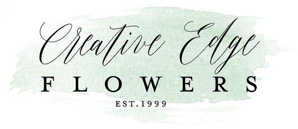 Creative Edge Flowers Logo Calgary Florist