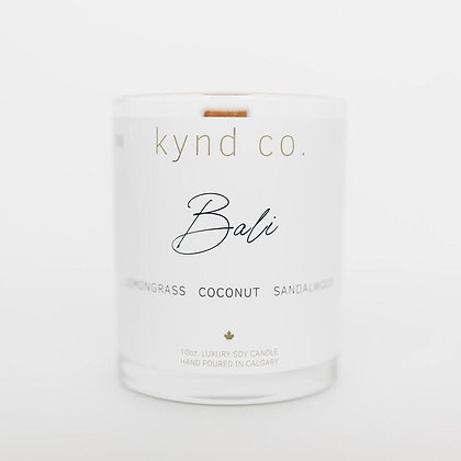Bali- Luxury Soy Coconut Candle 10oz