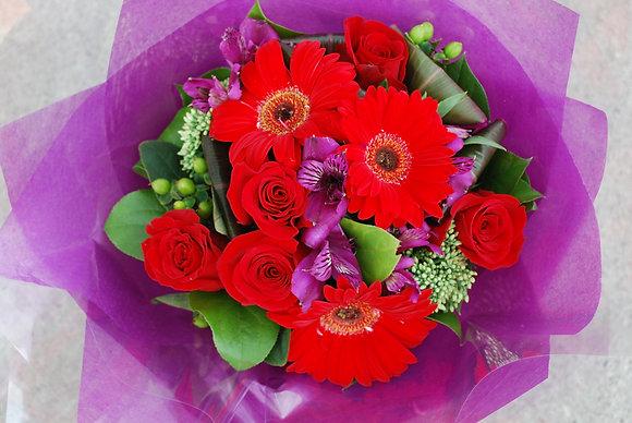 Red Joy Bouquet