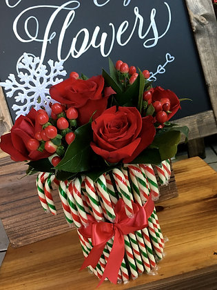 Candy Cane Roses