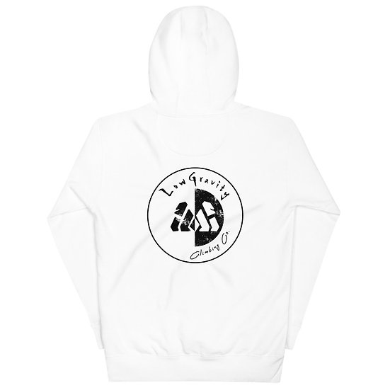 Black on White - Hoodie