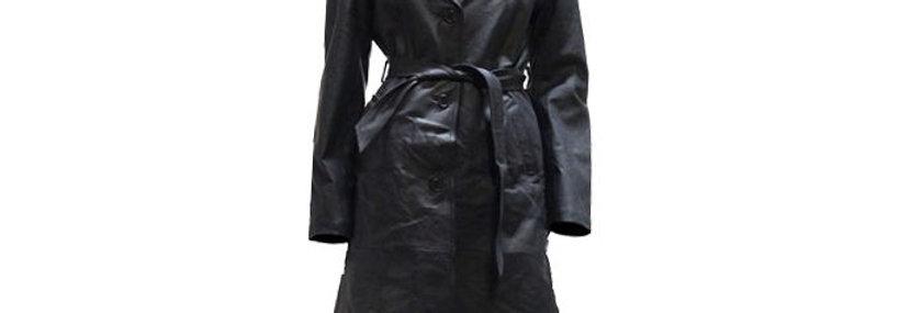 Womens Long Coat With Z/O Lining & Belt