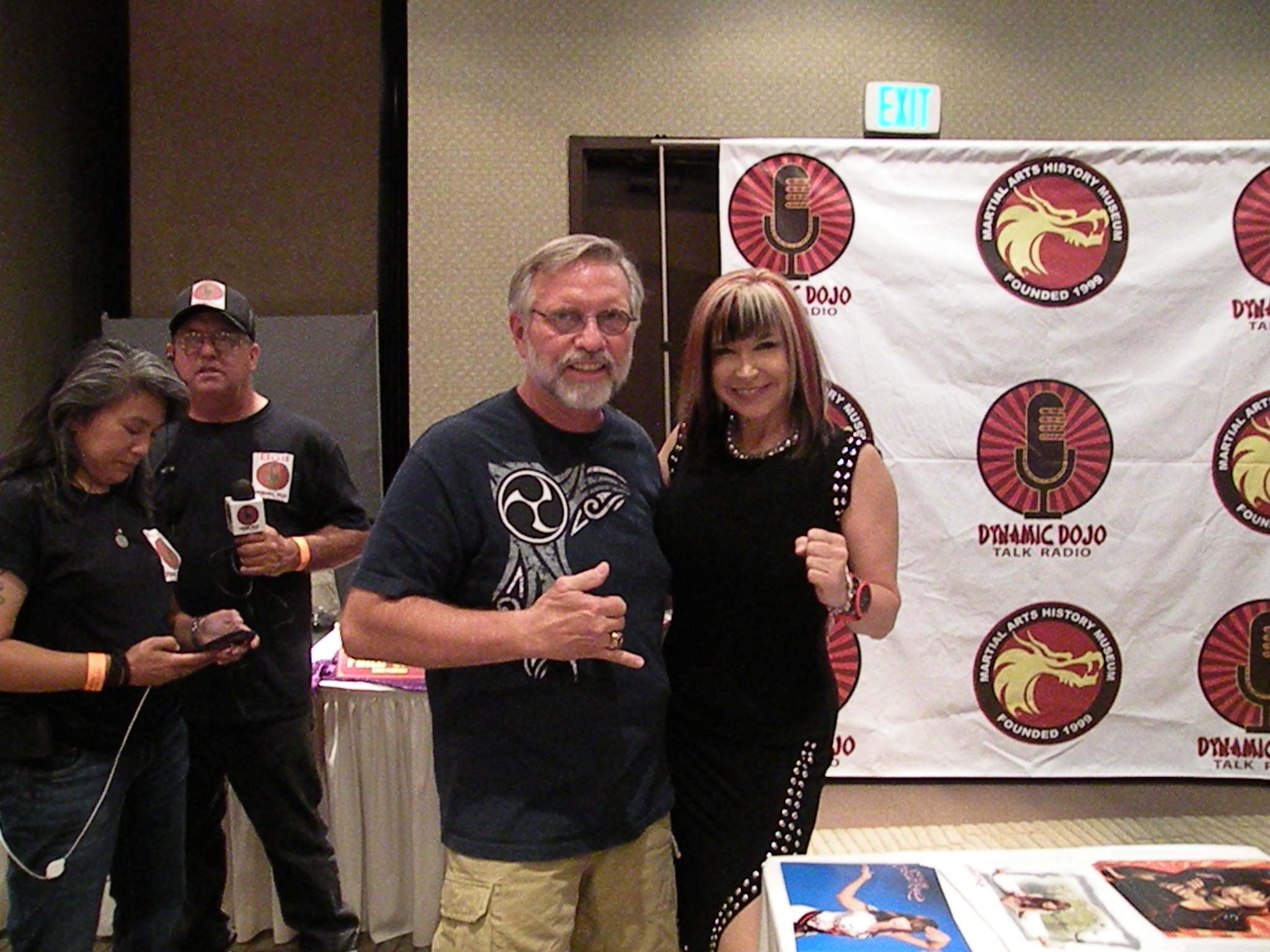 cynthia rothrock and koubushi gossett dragonfest LA 2016