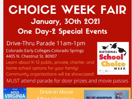 4...3...2...1 BLAST OFF with PTAA Rockets!  Come join us in Celebrating National School of Choice!