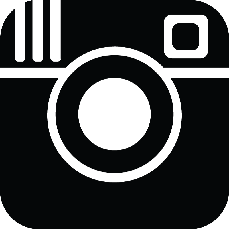 black instgram icon