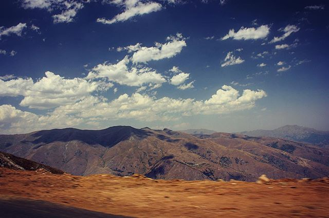 Dramatic drive from Yerevan to Tabriz bordering Nakhchivan