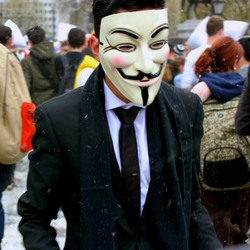 Give him a #mask and he will tell you the truth