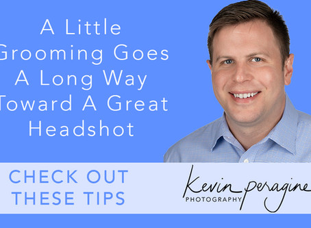 A Little Grooming Goes a Long Way Toward a Great Headshot