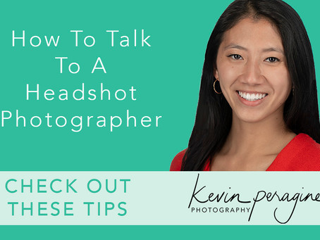 How To Talk To A Headshot Photographer
