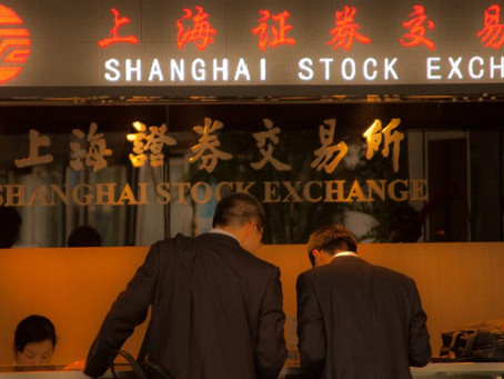 The Story of the New Year is Shanghai Composite Index