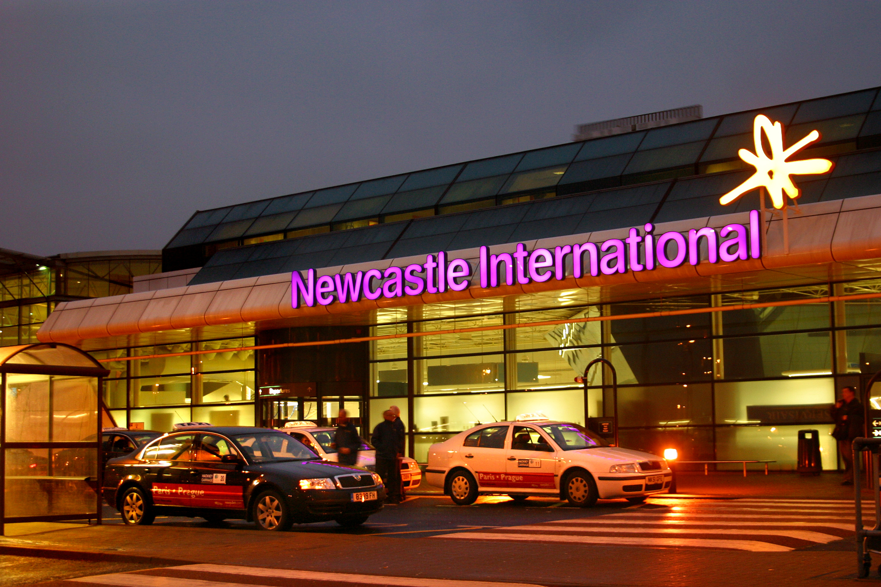 Newcastle Airport Pick up