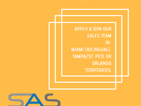 We're hiring in Miami, Tampa/St. Pete and Orlando