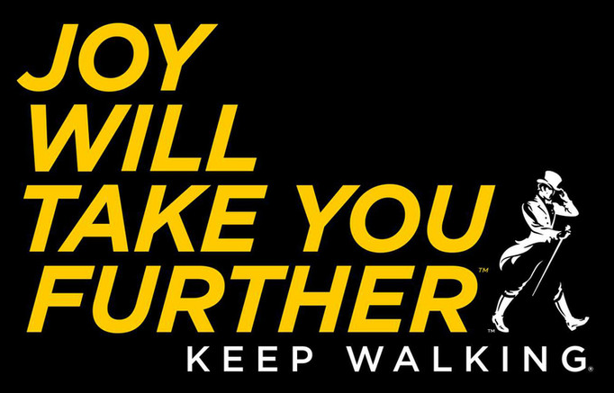 WALK THE LINE: NOVO LOGOTIPO E CAMPANHA JOHNNIE WALKER