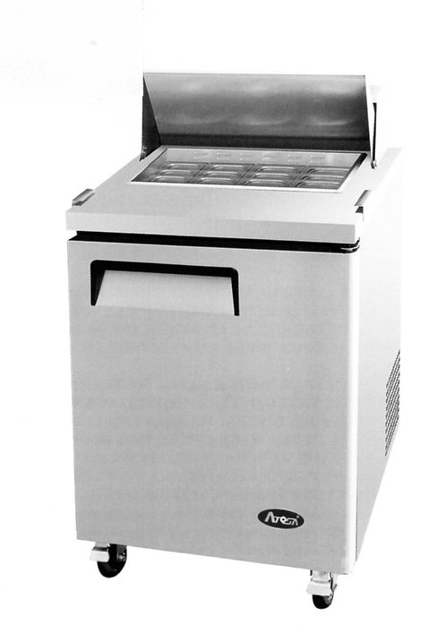 "ATOSA MSF8305 Mega Top 27"" Sandwich Prep Table Refrigerator"