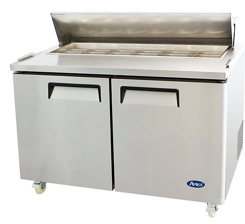 "ATOSA MSF8303 60"" Sandwich Prep.2 Door Refrig"