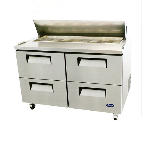 """Atosa MSF8313 Sandwich Prep 60"""" with drawers"""